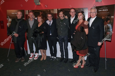 Topper Lilien, Flea, Amy-Jo Albany, Jeff Preiss, John Hawkes, Albert Berger, Mindy Goldberg and Ron Yerxa