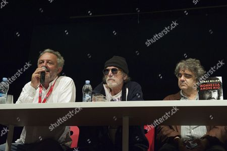 Editorial image of Tomas Milian book signing at the 9th Rome International Film Festival, Rome, Italy - 20 Oct 2014