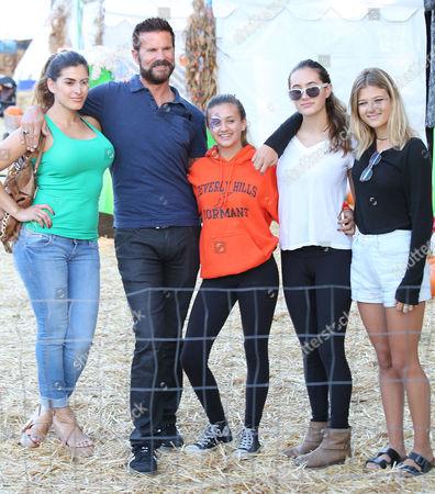 Shawna Craig, Lorenzo Lamas and daughters