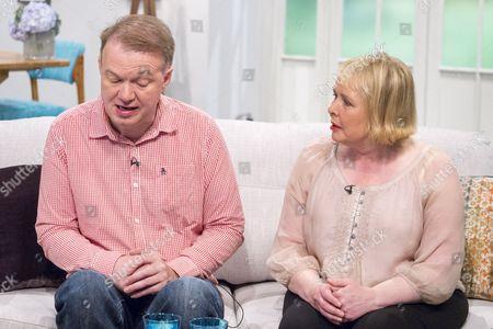 Edwyn Collins and wife Grace