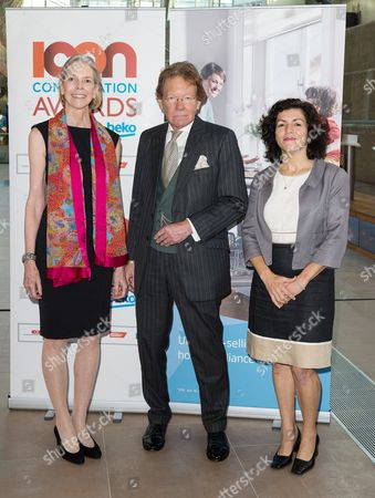 Editorial image of Launch of the Icon Conservation Awards Programme 2015, Cutty Sark, Greenwich, London, Britain - 21 Oct 2014