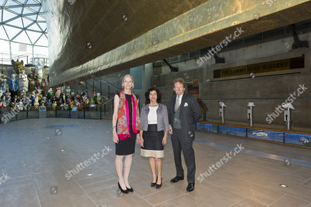 Alison Richmond the Chief Executive at Institute of Conservation (Icon), Teresa Arbuckle, Marketing Director of Beko and Maxwell Hutchinson