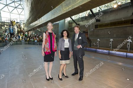 Stock Picture of Alison Richmond the Chief Executive at Institute of Conservation (Icon), Teresa Arbuckle, Marketing Director of Beko and Maxwell Hutchinson