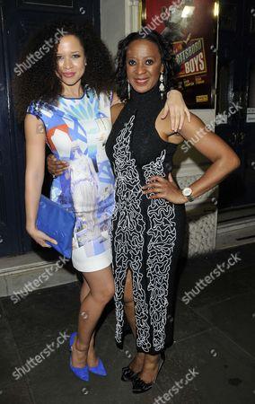 Natalie Gumede and Dawn Hope