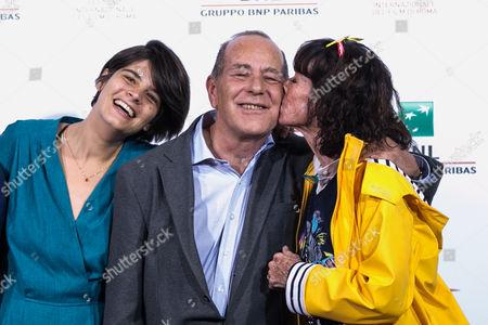 Director Laura Amelia Guzman, Jean-Noel Pancrazi, Geraldine Chaplin