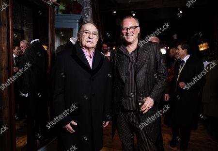 Joe Corre with Freddie Foreman