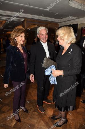 Joyce Reuben, Simon Reuben and Camilla Duchess of Cornwall