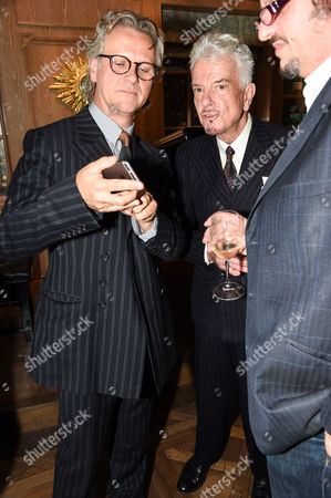 Guy Chambers and Nicky Haslam