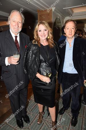 Ed Victor and Geordie Greig