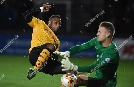 Editorial picture of Newport County v Southend United - SkyBet League Two, Britain - 21 Oct 2014