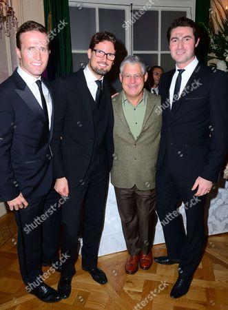 Humphrey Berney, Stephen Bowman, Cameron Mackintosh, Ollie Baine