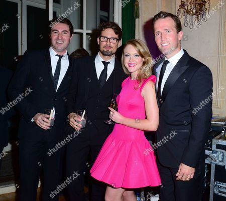 Stock Image of Ollie Baines, Stephen Bowman, Camilla Kerslake, Humphrey Berney