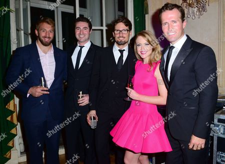 Editorial image of Blake 'In Harmony' album launch, London, Britain - 21 Oct 2014