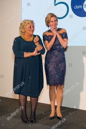 Dame Vivien Duffield and Darcey Bussell