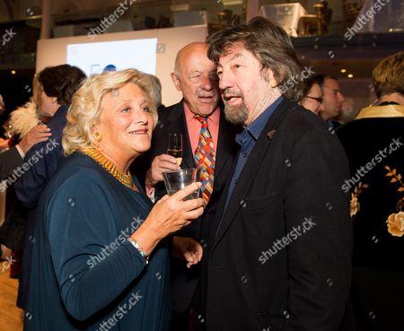 Dame Vivien Duffield and Sir Trevor Nunn