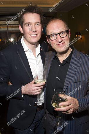 Jamie Hendry (Producer) and Adrian Edmondson (Gordon)