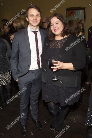 Mark Quartley and Ella Smith attend the after party on Press Night for Neville's Island at Villandry St James's, London, England on 21st October 2014. (Credit should read: Dan Wooller/wooller.com). Paid use only. No Syndication