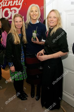 Katie Hillier, Ruth Chapman and Luella Bartley
