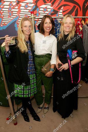 Katie Hillier, Natalie Kingham and Luella Bartley