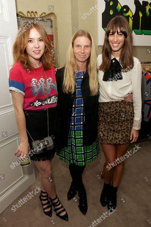 Angela Scanlon, Katie Hillier and Laura Jackson
