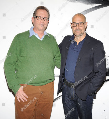 Marshall Fine and Stanley Tucci