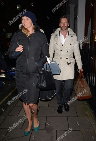 Jodie Kidd and husband David Blakeley