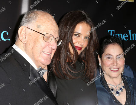 Stock Image of Perry Robins, Katie Holmes, Marcia Robbins-Wilf