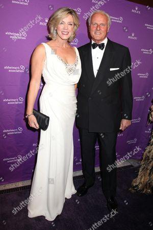 Deborah Norville and husband Karl Wellner