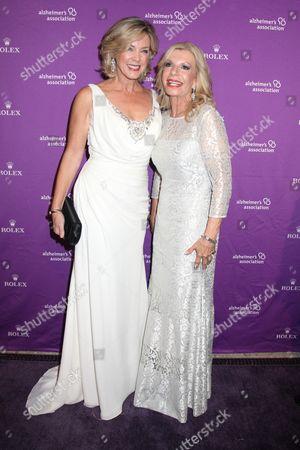 Deborah Norville and Princess Yasmin Aga Khan