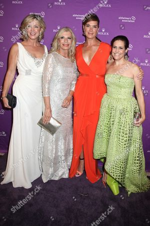 Deborah Norville, Princess Yasmin Aga Khan, Brooke Shields and Alexandra Lebenthal