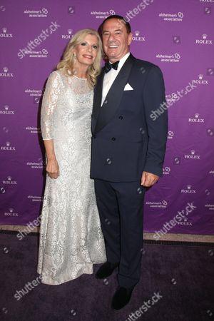 Princess Yasmin Aga Khan and Mark Locks