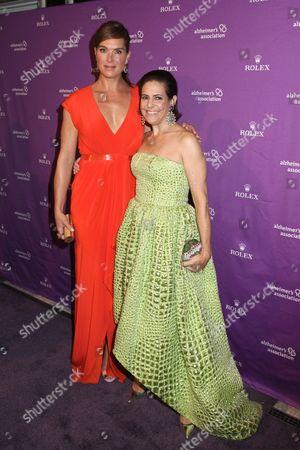 Brooke Shields and Alexandra Lebenthal