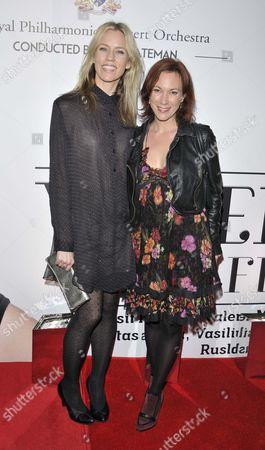 Stock Photo of Simone McAullay and Tanya Franks