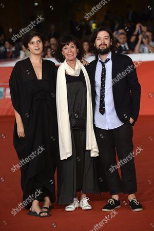 Israel Cardenas, Geraldine Chaplin and Laura Amelia Guzman
