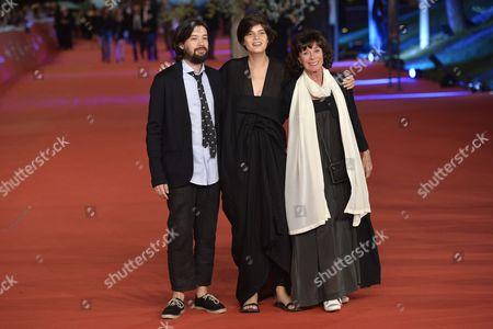 Israel Cardenas, Laura Amelia Guzman and Geraldine Chaplin