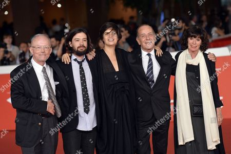 Israel Cardenas, Laura Amelia Guzman, Jean - Noel Pancrazi and Geraldine Chaplin