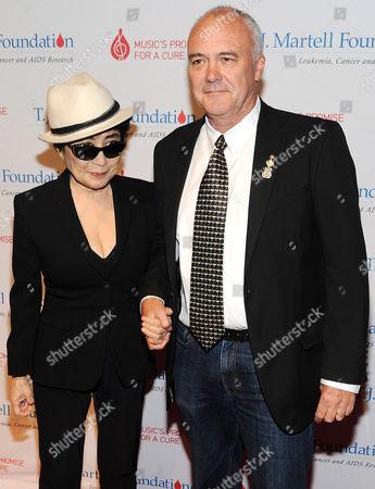 Yoko Ono and Hamish Dodds