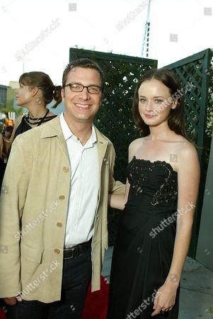 Stock Photo of Alexis Bledel and Jordan Levin