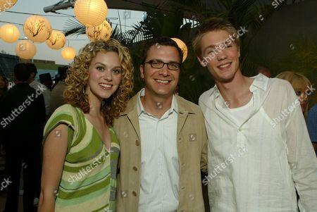 Hilarie Burton, Jordan Levin and Chad Michael Murray