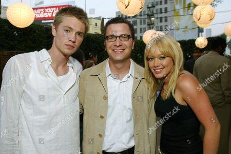 Chad Michael Murray, Jordan Levin and Hilary Duff