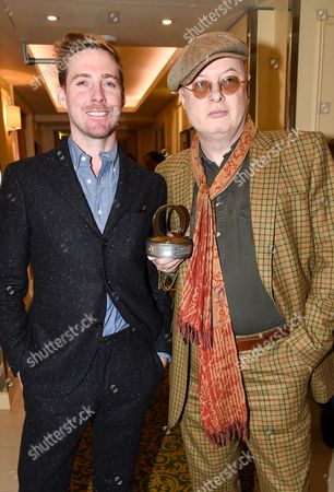 Ricky Wilson and Andy Partridge