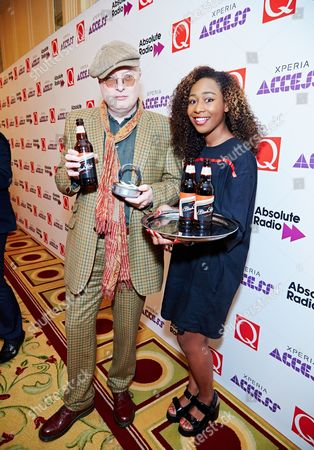 Editorial picture of Q Awards, Grosvenor House, London, Britain - 22 Oct 2014