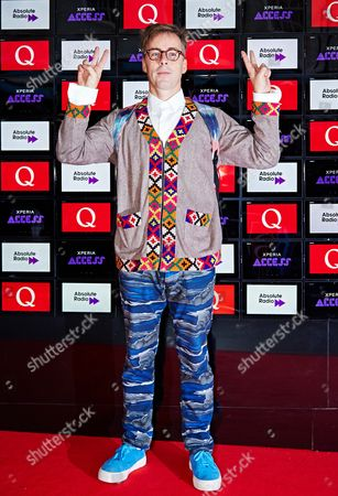 Editorial photo of Q Awards, Grosvenor House, London, Britain - 22 Oct 2014