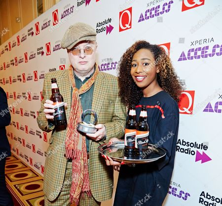 Stock Photo of Andy Partridge winner of Q Classic Songwriter