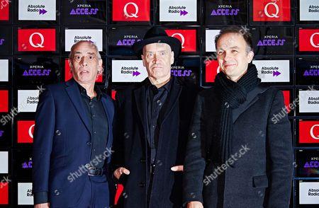 Norman Watt-Roy, Wilko Johnson and Dylan Howe
