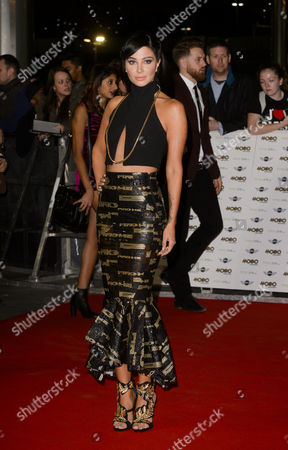 Editorial picture of Mobo Awards, London, Britain - 22 Oct 2014