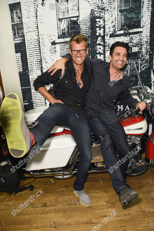 Editorial photo of Christopher Makos photography exhibit at The Kiehl's store, Los Angeles, America - 22 Oct 2014