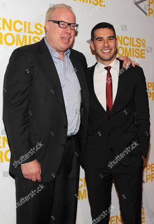 Adam Braun and Steve Bartels