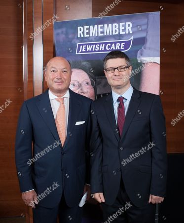 Stock Photo of Tony Page and Lord Simon Wolfson.