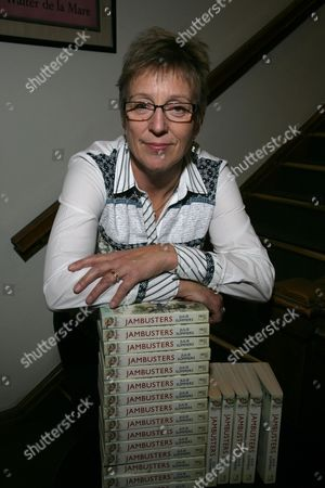Editorial photo of Julie Summers 'Jambusters The Story of The Womens Institute in the Second World War' book signing, Oxford, Britain - 23 Oct 2014